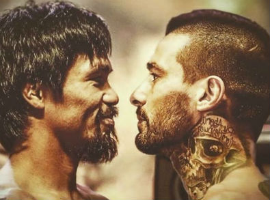 Este truco fotográfico será pronto una realidad: Pacquiao y Lucas frente a frente